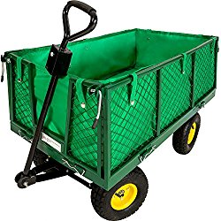 chariot de jardin parois amovible